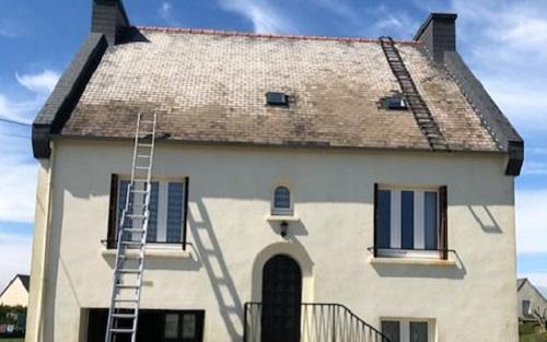 reparation de toiture finistere